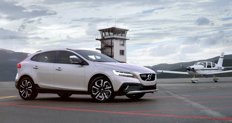 Новый Volvo V40 Cross Country 2016 года